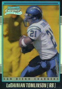 Canton Calls! Top 15 LaDainian Tomlinson Rookie Cards 17