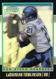 Canton Calls! Top 15 LaDainian Tomlinson Rookie Cards 16