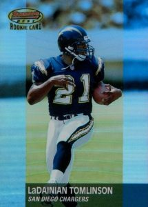 Canton Calls! Top 15 LaDainian Tomlinson Rookie Cards 10