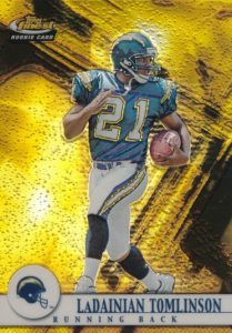 Canton Calls! Top 15 LaDainian Tomlinson Rookie Cards 11