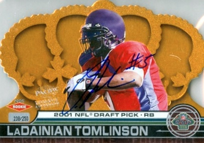 Canton Calls! Top 15 LaDainian Tomlinson Rookie Cards 6