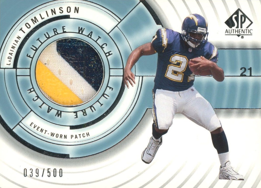 Canton Calls! Top 15 LaDainian Tomlinson Rookie Cards 12
