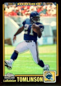Canton Calls! Top 15 LaDainian Tomlinson Rookie Cards 15