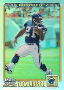 Canton Calls! Top 15 LaDainian Tomlinson Rookie Cards 14