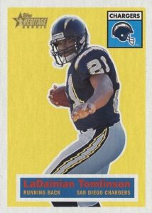 Canton Calls! Top 15 LaDainian Tomlinson Rookie Cards 4