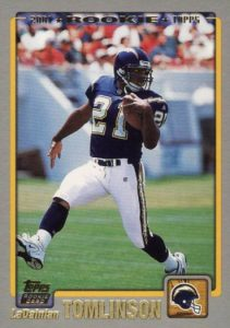 Canton Calls! Top 15 LaDainian Tomlinson Rookie Cards 1