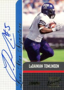 Canton Calls! Top 15 LaDainian Tomlinson Rookie Cards 7