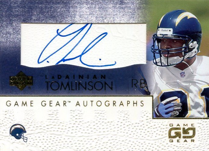timeless design 8d6ad 5082f Top LaDainian Tomlinson Rookie Cards, Autographs, Ranked ...