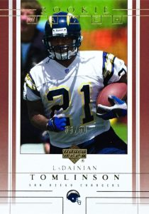 Canton Calls! Top 15 LaDainian Tomlinson Rookie Cards 8