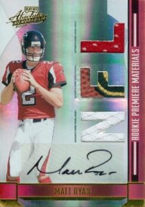 2016 NFL MVP! Top Matt Ryan Rookie Cards 16