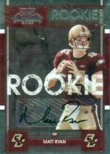 2016 NFL MVP! Top Matt Ryan Rookie Cards 26