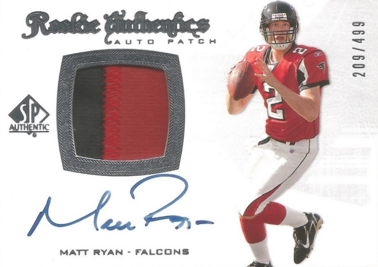 Top Matt Ryan Rookie Cards
