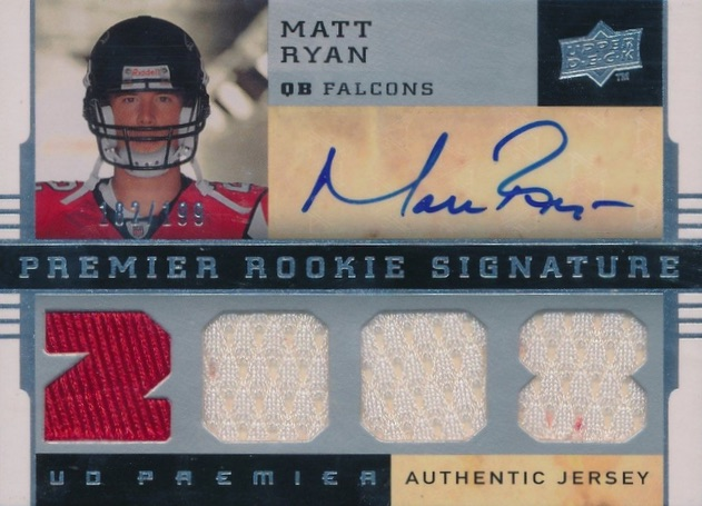 2016 NFL MVP! Top Matt Ryan Rookie Cards 18