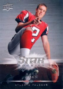 2016 NFL MVP! Top Matt Ryan Rookie Cards 7