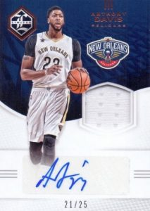 2016-17 Panini Limited Basketball Cards 25