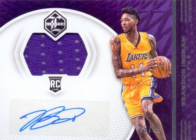 2016-17 Panini Limited Basketball Cards 22