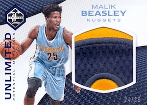 2016-17 Panini Limited Basketball Cards 34