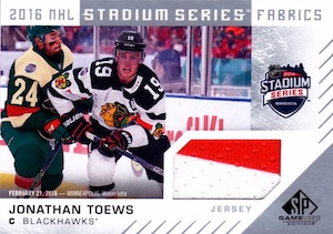 2016-17 SP Game Used Hockey Cards 28