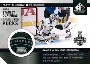 2016-17 SP Game Used Hockey