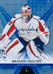 2016-17 Upper Deck Trilogy Hockey Cards 21