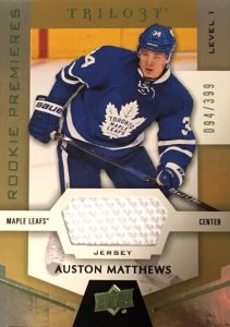 Auston Matthews Rookie Cards Checklist and Gallery 38