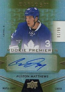 Auston Matthews Rookie Cards Checklist and Gallery 39