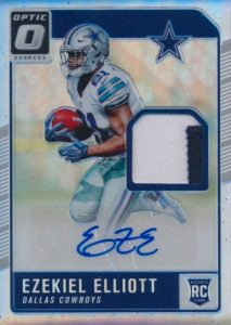 Top Ezekiel Elliott Rookie Cards 8
