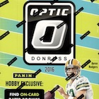2016 Donruss Optic Football Cards