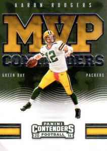 2016 Panini Contenders Football Cards - SP/SSP Print Runs Added 32