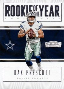 2016 Panini Contenders Football Cards - SP/SSP Print Runs Added 35
