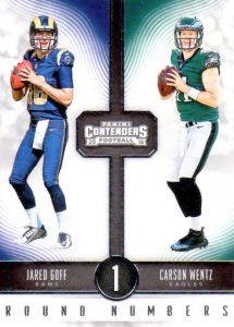 2016 Panini Contenders Football Cards - SP/SSP Print Runs Added 41