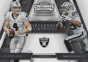 2016 Panini Contenders Football Cards - SP/SSP Print Runs Added 43