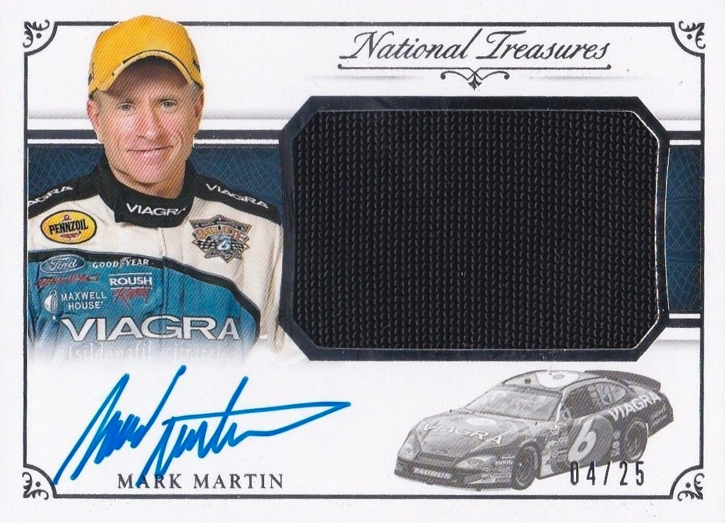 2016 Panini National Treasures NASCAR Racing Cards 29