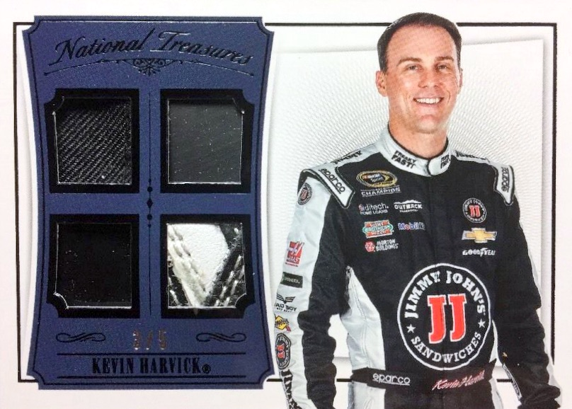 2016 Panini National Treasures NASCAR Racing Cards 26