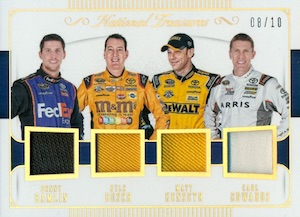 2016 Panini National Treasures NASCAR Racing Cards 27