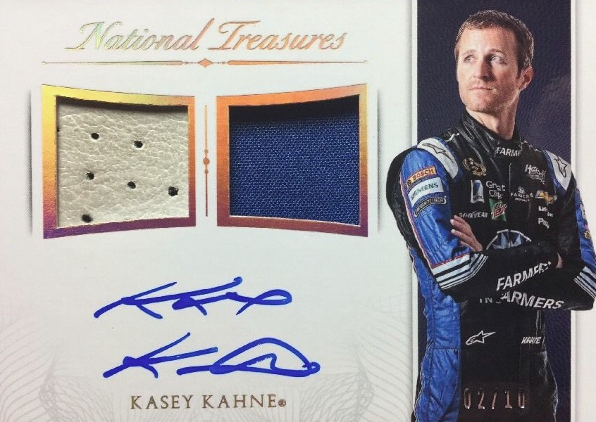 2016 Panini National Treasures NASCAR Racing Cards 21