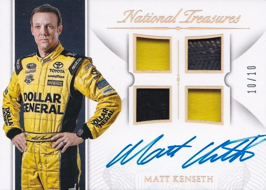 2016 Panini National Treasures NASCAR Racing Cards 22