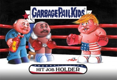 2016-17 Topps Garbage Pail Kids Disg-Race to the White House - Updated 150
