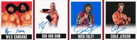 2017 Leaf Originals Wrestling Cards 1