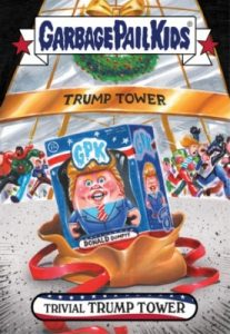2016-17 Topps Garbage Pail Kids Disg-Race to the White House - Updated 146