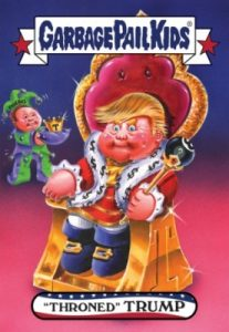2016-17 Topps Garbage Pail Kids Disg-Race to the White House - Updated 144
