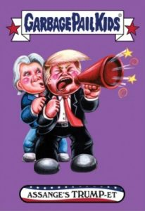 2016-17 Topps Garbage Pail Kids Disg-Race to the White House - Updated 155