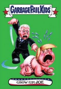 2016-17 Topps Garbage Pail Kids Disg-Race to the White House - Updated 156