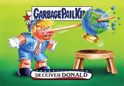 2016-17 Topps Garbage Pail Kids Disg-Race to the White House - Updated 161