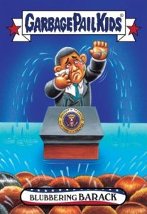 2016-17 Topps Garbage Pail Kids Disg-Race to the White House - Updated 162
