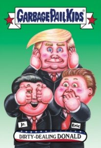 2016-17 Topps Garbage Pail Kids Disg-Race to the White House - Updated 170