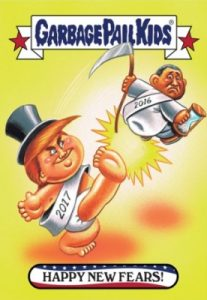 2016-17 Topps Garbage Pail Kids Disg-Race to the White House - Updated 137
