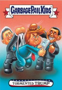 2016-17 Topps Garbage Pail Kids Disg-Race to the White House - Updated 142