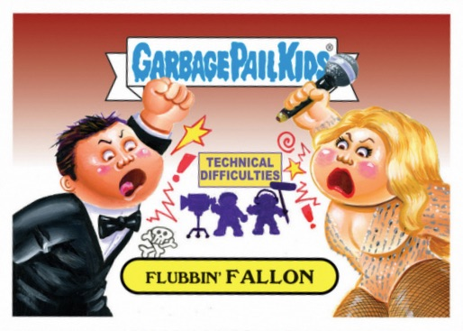 2017 Topps Garbage Pail Kids Golden Groans Awards
