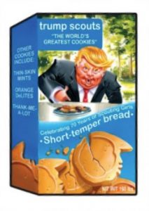 2017 Topps Garbage Pail Kids Presidential Inaug-Hurl Ceremony Cards 32